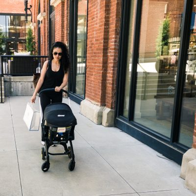 The Doona Car Seat and Stroller In One