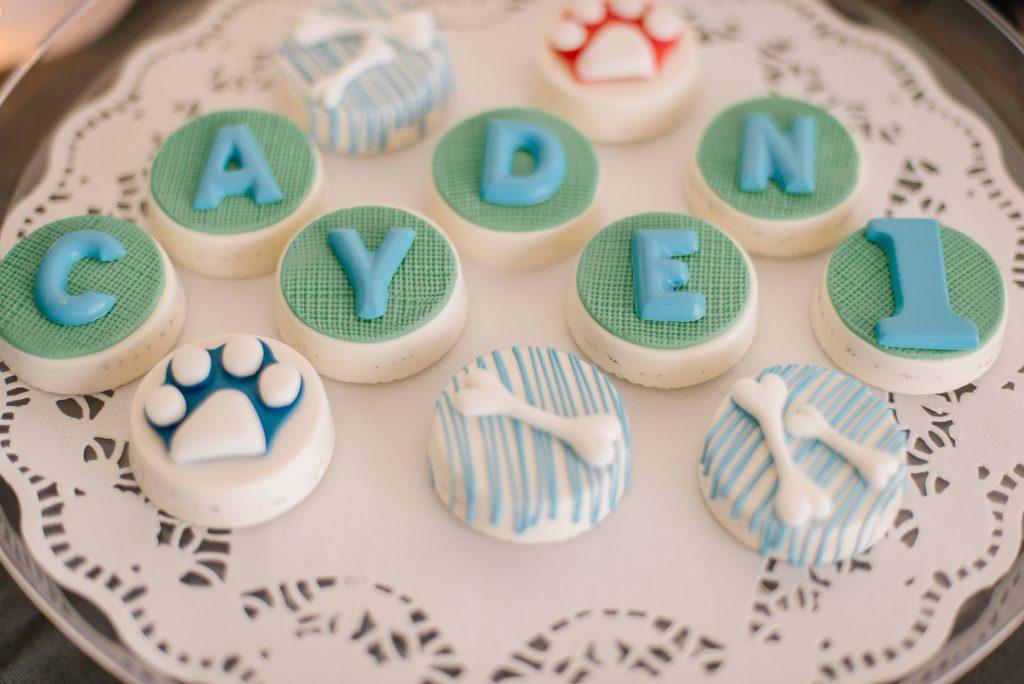 Cayden S First Birthday Party