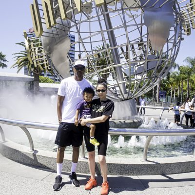 Cayden's First Trip to Universal Studios